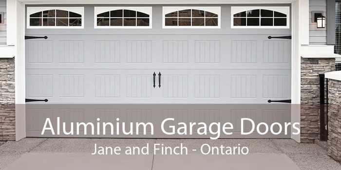Aluminium Garage Doors Jane and Finch - Ontario