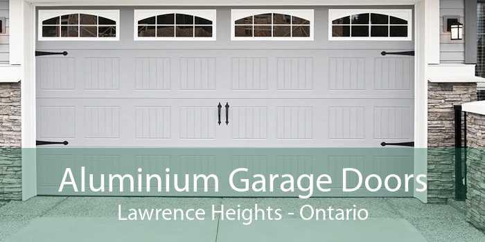 Aluminium Garage Doors Lawrence Heights - Ontario