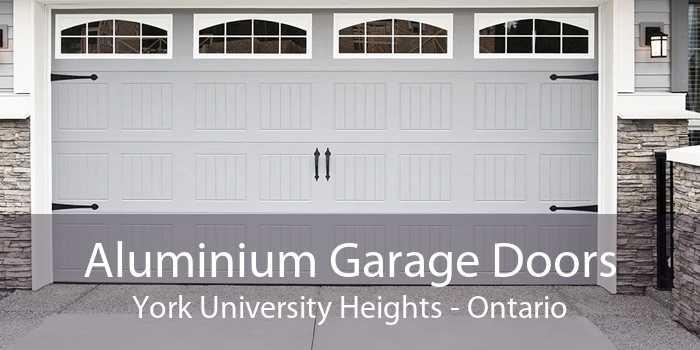 Aluminium Garage Doors York University Heights - Ontario
