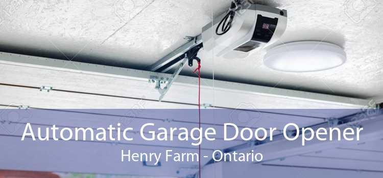 Automatic Garage Door Opener Henry Farm - Ontario