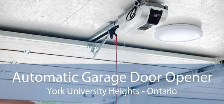 Automatic Garage Door Opener York University Heights - Ontario