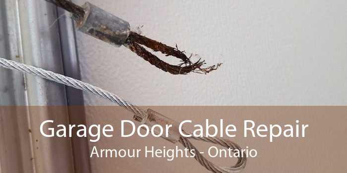 Garage Door Cable Repair Armour Heights - Ontario