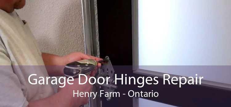 Garage Door Hinges Repair Henry Farm - Ontario
