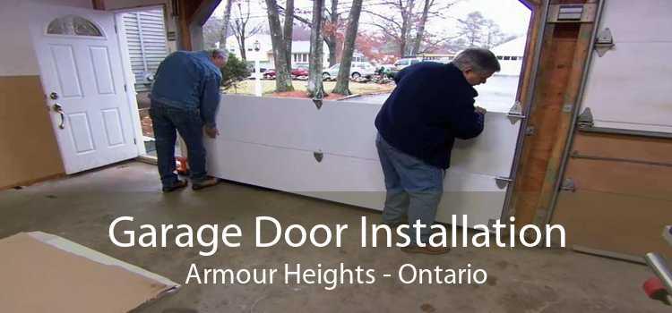 Garage Door Installation Armour Heights - Ontario
