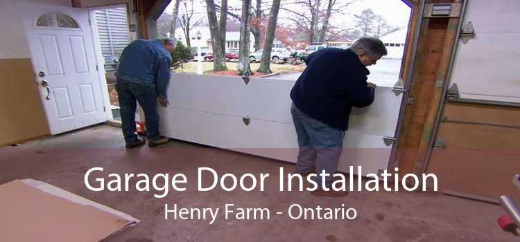 Garage Door Installation Henry Farm - Ontario