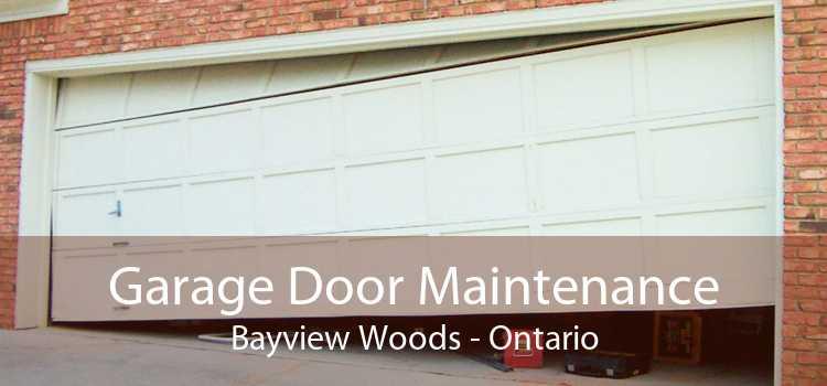 Garage Door Maintenance Bayview Woods - Ontario
