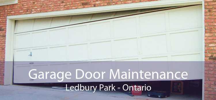 Garage Door Maintenance Ledbury Park - Ontario