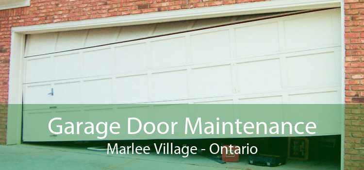Garage Door Maintenance Marlee Village - Ontario