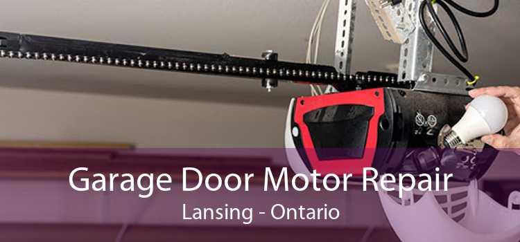 Garage Door Motor Repair Lansing - Ontario