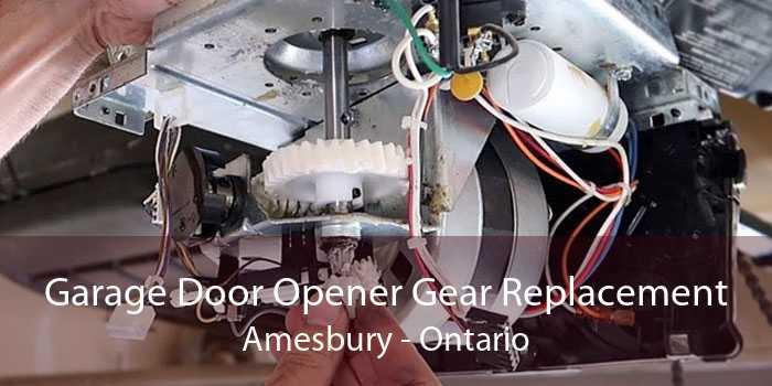 Garage Door Opener Gear Replacement Amesbury - Ontario