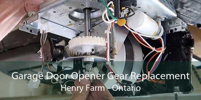 Garage Door Opener Gear Replacement Henry Farm - Ontario