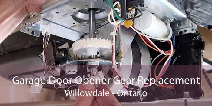 Garage Door Opener Gear Replacement Willowdale - Ontario