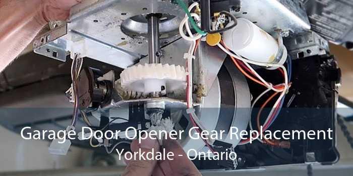 Garage Door Opener Gear Replacement Yorkdale - Ontario