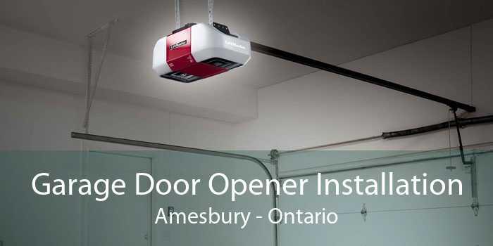 Garage Door Opener Installation Amesbury - Ontario