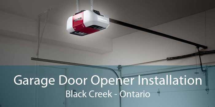 Garage Door Opener Installation Black Creek - Ontario