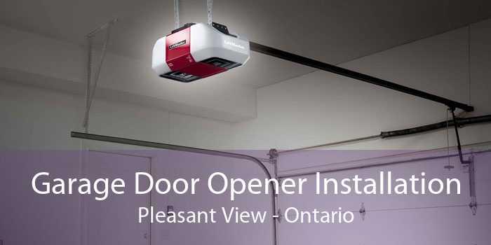 Garage Door Opener Installation Pleasant View - Ontario