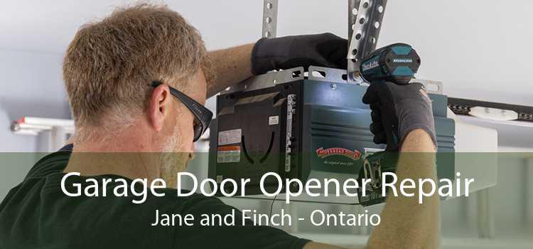 Garage Door Opener Repair Jane and Finch - Ontario