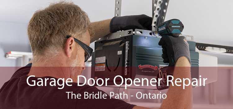 Garage Door Opener Repair The Bridle Path - Ontario