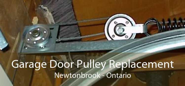 Garage Door Pulley Replacement Newtonbrook - Ontario