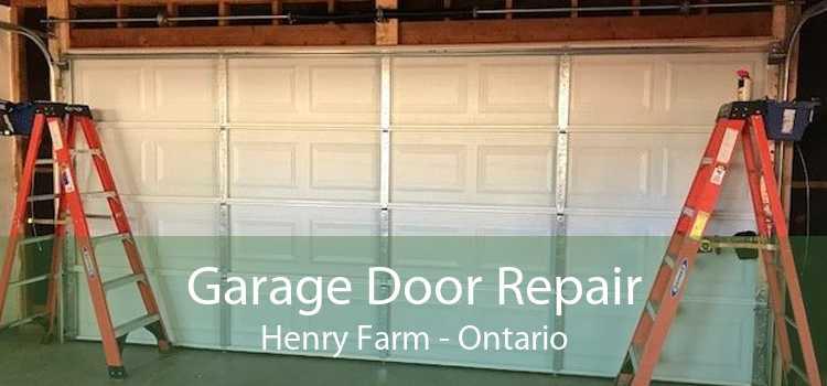 Garage Door Repair Henry Farm - Ontario