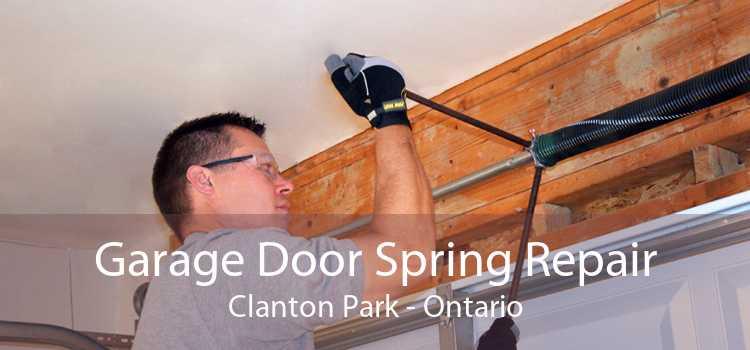 Garage Door Spring Repair Clanton Park - Ontario