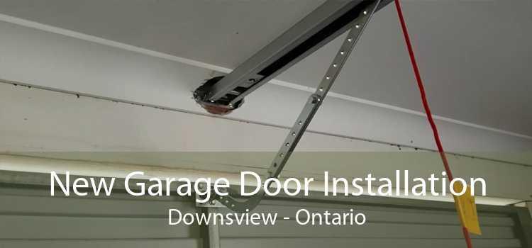 New Garage Door Installation Downsview - Ontario