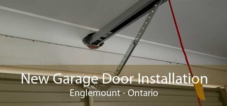 New Garage Door Installation Englemount - Ontario
