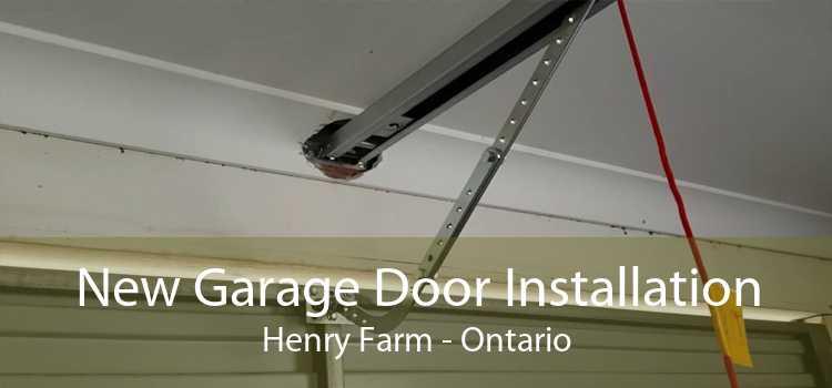 New Garage Door Installation Henry Farm - Ontario
