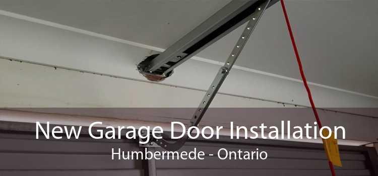 New Garage Door Installation Humbermede - Ontario