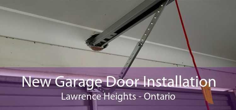 New Garage Door Installation Lawrence Heights - Ontario
