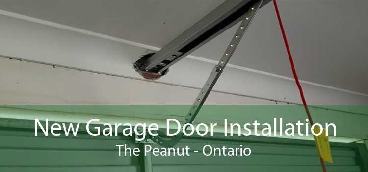 New Garage Door Installation The Peanut - Ontario