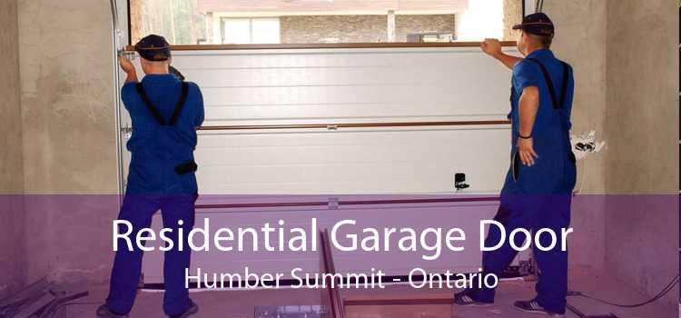 Residential Garage Door Humber Summit - Ontario