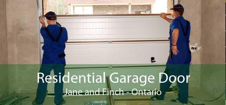 Residential Garage Door Jane and Finch - Ontario