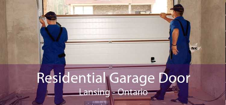 Residential Garage Door Lansing - Ontario