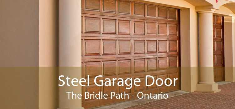 Steel Garage Door The Bridle Path - Ontario