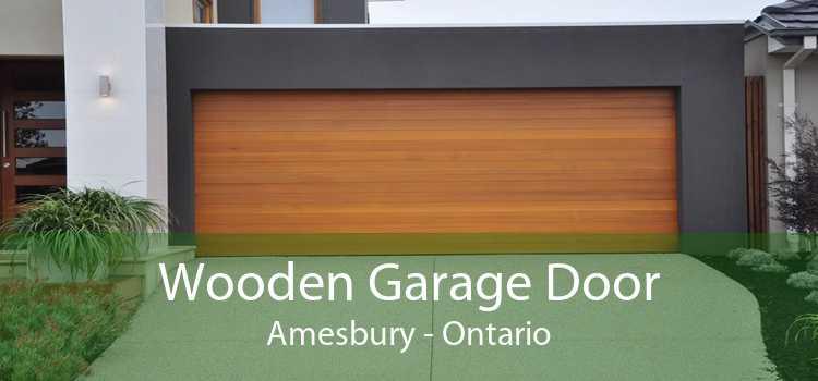Wooden Garage Door Amesbury - Ontario
