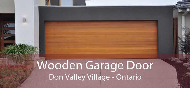Wooden Garage Door Don Valley Village - Ontario
