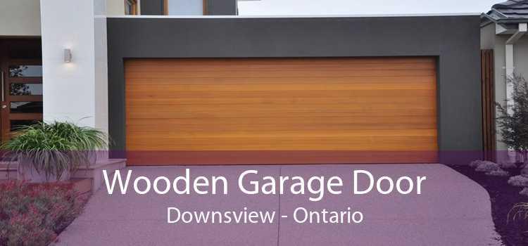 Wooden Garage Door Downsview - Ontario